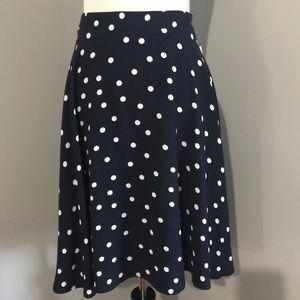 Hanneli Print Swing Skirt
